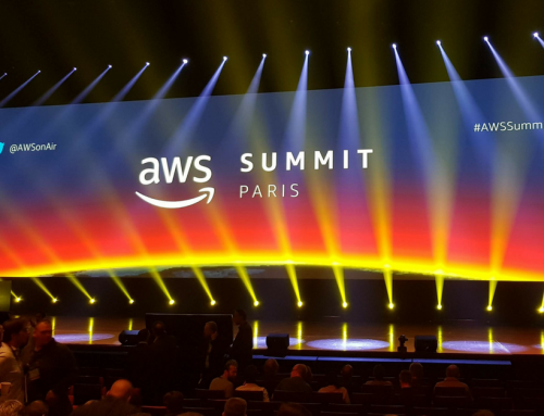 Our participation in the AWS (Amazon Web Services) Paris Summit 2018.