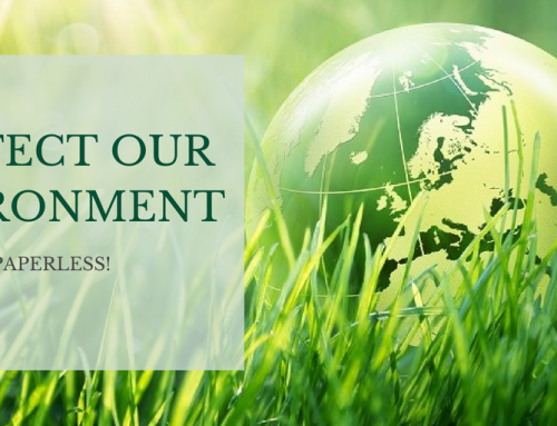 Protect our environment – Reduce paper consumption