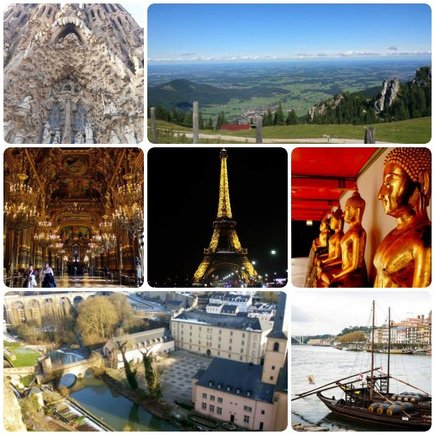 photo collage travel