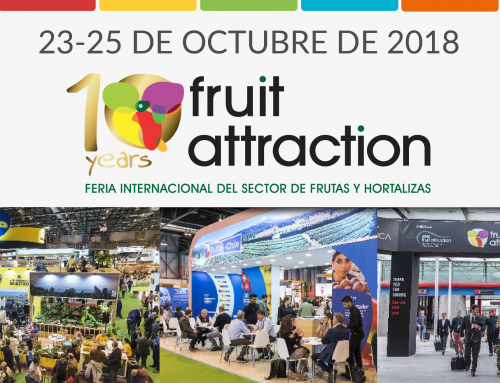 ¡Visítenos en la feria Fruit Attraction del 23 al 25 de octubre de 2018 en Madrid!